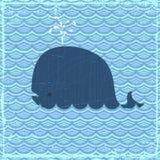 La baleine Images stock