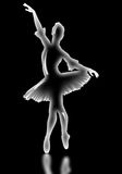 La ballerine de verre Photographie stock