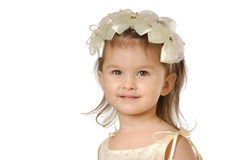 La bambina fotografie stock