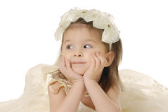 La bambina immagine stock