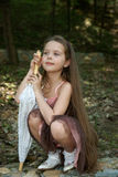 La bambina Immagini Stock