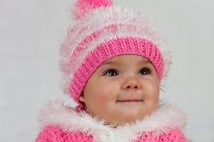 La bambina che gradice posare. Fotografie Stock Libere da Diritti