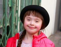 La bambina si diverte Fotografie Stock Libere da Diritti