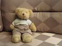 La bambola dell'orso Fotografia Stock