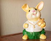La bambola di porcellino è bella Fotografia Stock Libera da Diritti