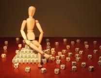 La bambola ed il gioco taglia Fotografia Stock Libera da Diritti