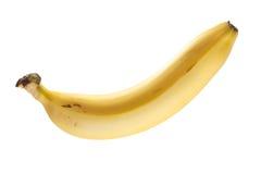 La banana matura ha isolato Fotografia Stock