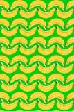 La banana senza cuciture modella la struttura della frutta moderna royalty illustrazione gratis