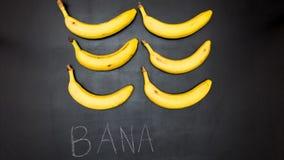 La banane, arrêtent l'animation de mouvement clips vidéos