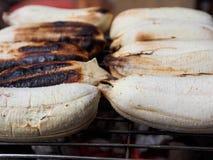La banane grillent Image stock
