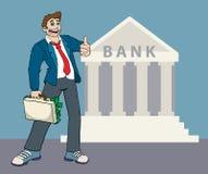 La Banca Illustrazione Vettoriale