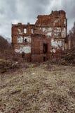 La Banca abbandonata - Littleton, Virginia Occidentale Fotografia Stock Libera da Diritti