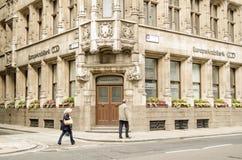 La Banca araba di Europa, Londra Fotografia Stock Libera da Diritti