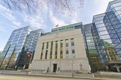 La Banca del Canada, Ottawa Fotografia Stock