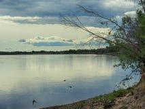 La Banca del fiume Lena Fotografia Stock Libera da Diritti