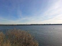 La Banca del fiume Volga Fotografie Stock Libere da Diritti