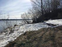 La Banca del fiume Volga Fotografia Stock Libera da Diritti