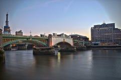La Banca del sud 2 di Londra Fotografie Stock