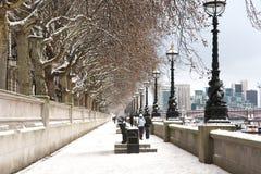 La Banca del sud di Westminster Fotografia Stock