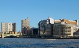La Banca del sud, Londra Fotografia Stock Libera da Diritti