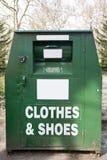 La Banca dell'abbigliamento immagine stock libera da diritti