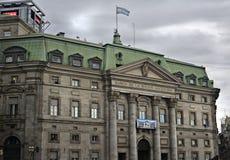 La Banca della nazione dell'Argentina Fotografia Stock Libera da Diritti