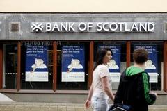La Banca della Scozia fotografia stock libera da diritti