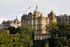 La Banca della Scozia, Edinburgh, Scozia, Regno Unito fotografia stock libera da diritti