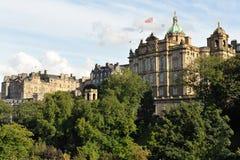 La Banca della Scozia, Edinburgh, Scozia, Regno Unito fotografia stock