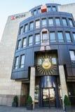 La Banca di BCGE Immagine Stock