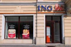 La Banca di ING Fotografie Stock