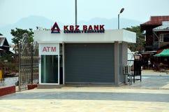 La Banca di KBZ nel Myanmar immagine stock