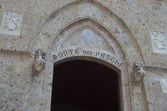 La Banca di Paschi di dei di Monte a Siena Fotografia Stock