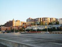 La Banca giusta di Dniepropetovsk Fotografie Stock