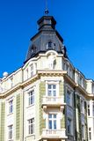 La Banca Headoffice Sofia, Bulgaria del Disc Fotografie Stock