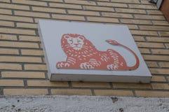 La Banca Logo At Diemen The Netherlands 2018 di ING fotografia stock libera da diritti