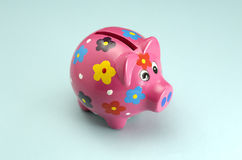 La Banca Piggy Immagine Stock