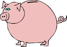 La Banca Piggy illustrazione di stock