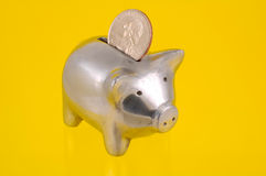 La Banca Piggy immagini stock