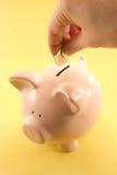 La Banca Piggy fotografie stock