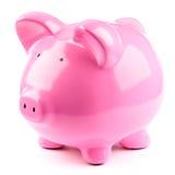 La Banca Piggy dentellare Immagini Stock