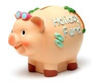 La Banca Piggy di festa Fotografia Stock Libera da Diritti