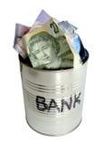 La Banca su questo. Fotografia Stock