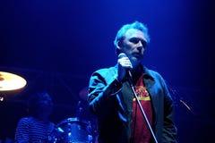 La banda de Jesús y de Mary Chain se realiza en el festival 2013 del sonido de Heineken Primavera Fotografía de archivo libre de regalías