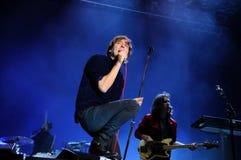 La banda de Phoenix se realiza en el festival 2013 del sonido de Heineken Primavera fotos de archivo libres de regalías