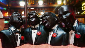 La banda di jazz Fotografie Stock