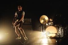 La banda di Metz esegue a Apolo Immagini Stock