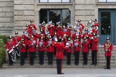 La banda imperial de la juventud de Brentwood en Hannover Fotos de archivo
