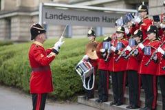 La banda imperial de la juventud de Brentwood en Hannover Fotos de archivo libres de regalías