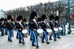 La banda real de los guardias Imágenes de archivo libres de regalías